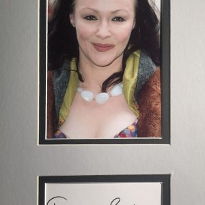 Frances Barber (born Frances Brookes, 13 May 1958) is an English actress. She received Olivier Award nominations for her work in the plays Camille (1985), and Uncle Vanya (1997).
