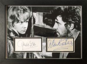 Alan Bates And Hayley Mills Autograph