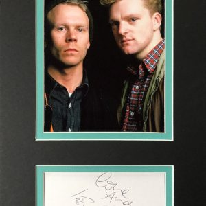 Erasure are an English synth-pop duo, consisting of singer and songwriter Andy Bell and songwriter and keyboardist Vince Clarke.