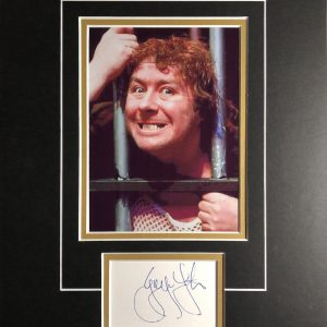 Gregor Fisher (born 22 December 1953) is a Scottish comedian and actor. He is best known for his portrayal of the title character in the comedy series Rab C. Nesbitt, a role he has played since the show's first episode in 1988.