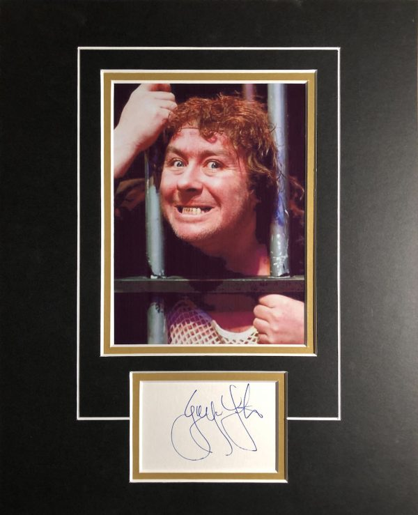 Gregor Fisher Autograph Photo Display