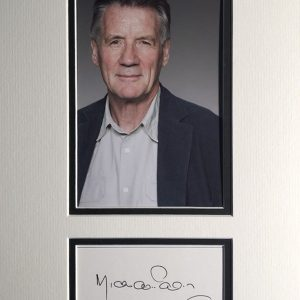 Sir Michael Edward Palin ( born 5 May 1943) is an English actor, comedian, writer and television presenter. He was a member of the comedy group Monty Python. Since 1980 he has made a number of travel documentaries