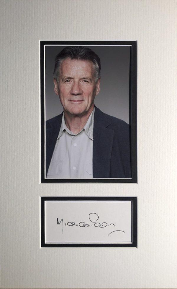 Michael Palin Autograph Page