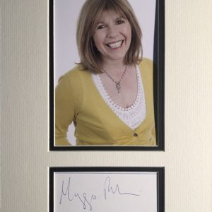 Margaret Elizabeth Philbin OBE (born 23 June 1955) is an English radio and television presenter whose credits include Tomorrow's World, Multi-Coloured Swap Shop and latterly Bang Goes the Theory.