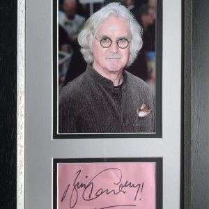 Billy Connolly was born and raised in Glasgow, Scotland. He left school to work in the shipyards becoming a welder,  He is now one of the UK's top comedians