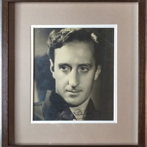 Philip St. John Basil Rathbone (13 June 1892 – 21 July 1967) was an English actor.  Rathbone is most widely recognised for his many portrayals of Sherlock Holmes