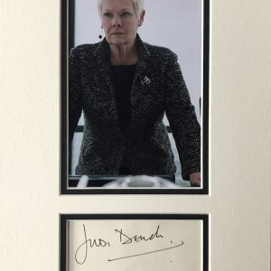 Dame Judith Olivia Dench CH DBE FRSA (born 9 December 1934)[1] is an English actress. She made her professional debut in 1957 with the Old Vic Company. Over the following few years, she performed in several of Shakespeare's plays, in such roles as Ophelia in Hamlet, Juliet in Romeo and Juliet and Lady Macbeth in Macbeth.