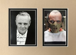 Anthony Hopkins Autograph Photograph