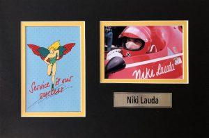Niki Lauda Autograph Postcard