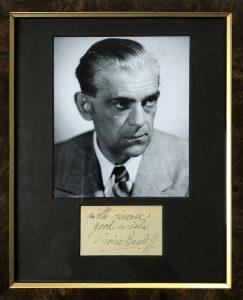 Boris Karloff Signed Autograph
