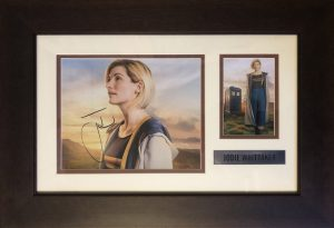Jodie Whittaker Framed Autograph