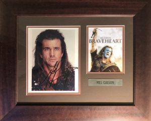 Mel Gibson Autograph Montage