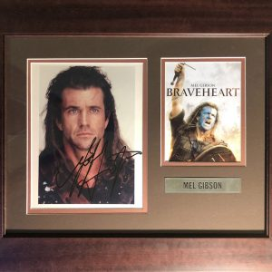 Mel Columcille Gerard Gibson  (born January 3, 1956). Mel Gibson directed, produced, and starred in Braveheart, a biographical film of Sir William Wallace