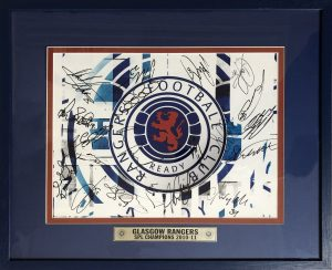 Glasgow Rangers Multi Signed Photo