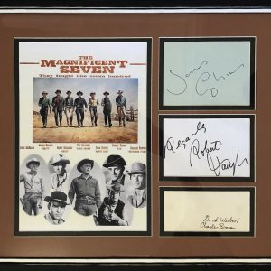 The Magnificent Seven is a 1960 American Western film directed by John Sturges, Seven gunfighters are hired by Mexican peasants to liberate their village from oppressive bandits.