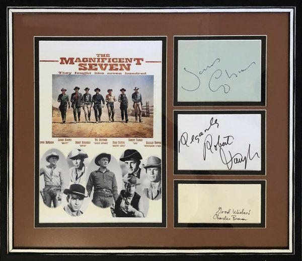 Magnificent Seven Cast Autographs
