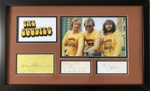 The Goodies Signed Display